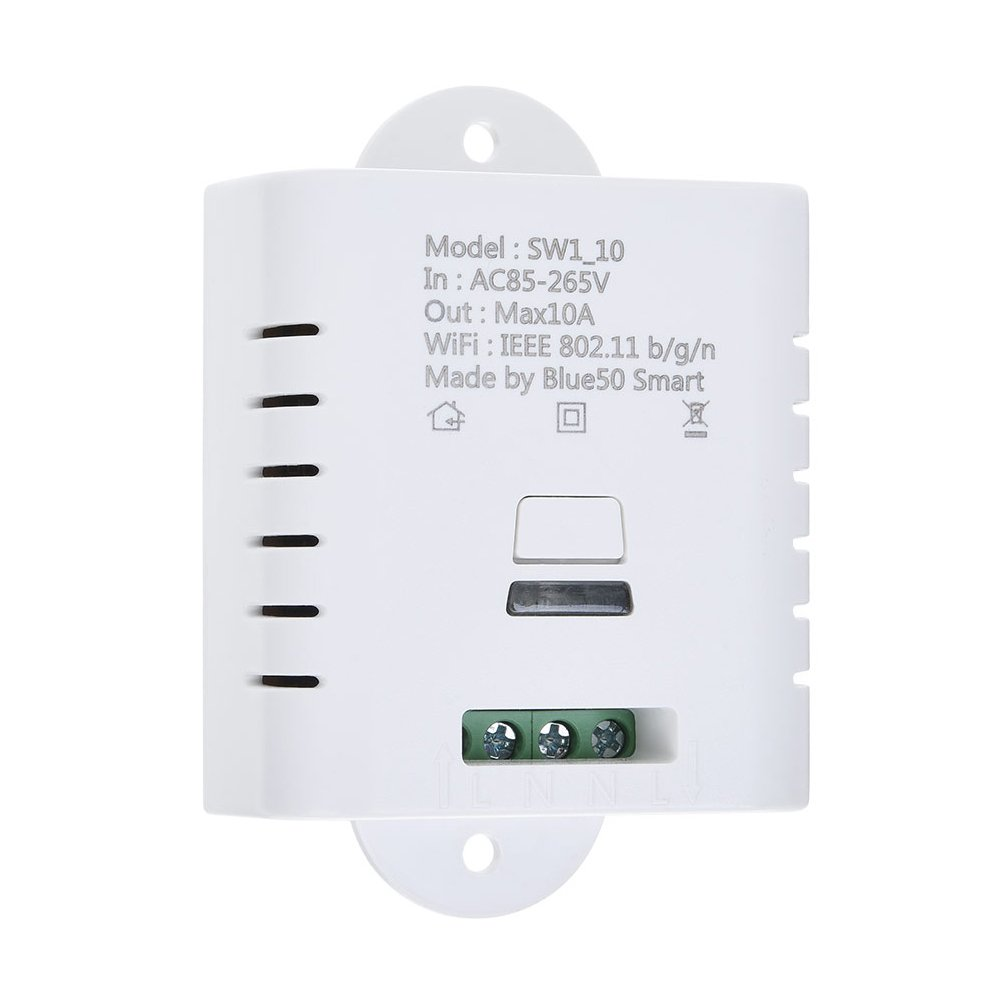 Wireless Remote Control Electrical Module For Household Appliances 1 Compatible with Alexa Echo,Google Assistant DIY Smart Wifi Plug Switch Socket Outlet LEVUSU