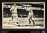 1936 National Chicle Fine Pen Premiums # 112 McQuinn gets his man Cincinnati Reds (Baseball Card) Dean's Cards 3 - VG Reds