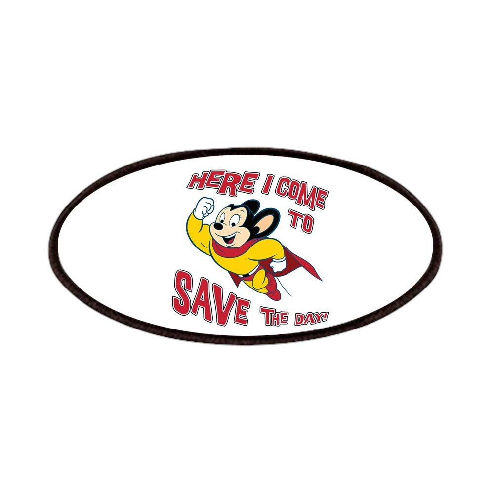 4x2in Printed Novelty Applique Patch CafePress Mighty Mouse Patches Patch