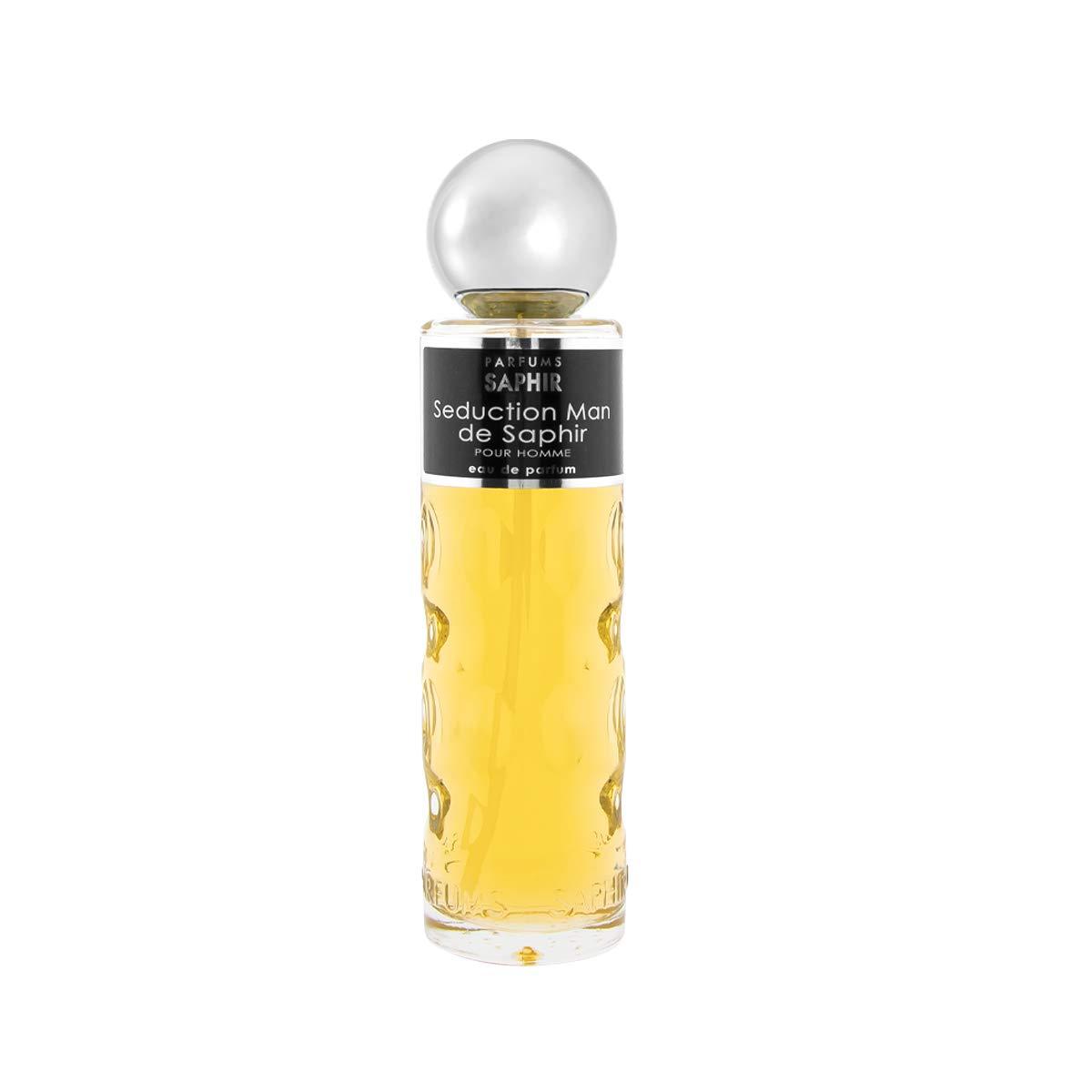 PARFUMS SAPHIR Seduction Man - Eau de Parfum con vaporizador para Hombre - 200 ml