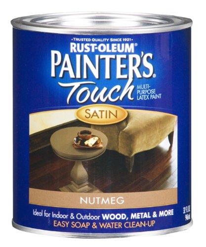 rust-oleum-240284-painters-touch-quart-latex-satin-nutmeg
