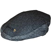 Guinness Official Grey Tweed Flat Cap