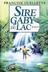Sire Gaby du lac par Francine Ouellette