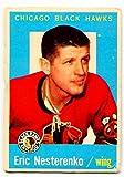 1959/60 Topps Eric Nesterenko Card #1 Chicago Black Hawks