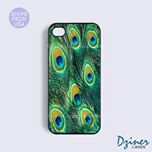 iPhone 4 4s Case - Old Peacock Feather iPhone Cover