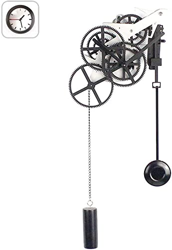 FDYD Gear Pendulum Wall Clock