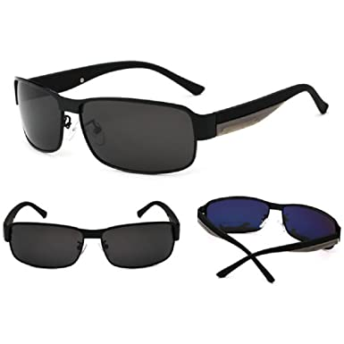 b383279ae7 Amazon.com  Fashion HD-Mens-Polarized-Sunglasses-Outdoor-Sports ...
