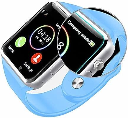 YinoSino A1 Smart Watch (Disponible en Español) / Reloj inteligente A1 / Reloj Bluetooth / Reloj Android / Reloj para la salud con pantalla táctil y ...