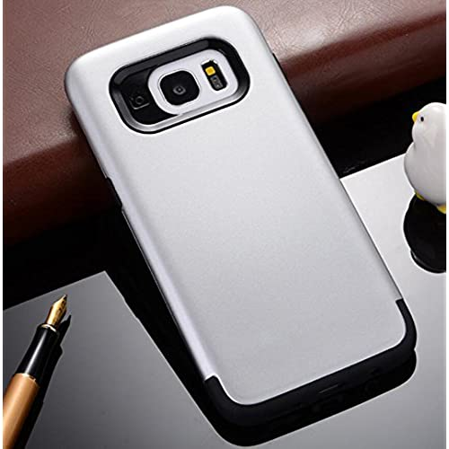 GalaxyS7 Armor Case, Cool Hard PC Utralight Slim Anti-Scratch Awesome Cover, OMORRO New Fashion 2 In 1 Hybrid Sales