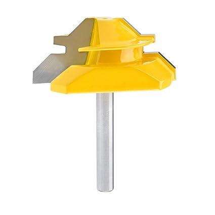 Qlouni Lock Miter 2 Diameter 1 4 Carbon Steel Shank 45 Degree