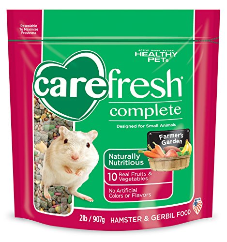 Carefresh complete menu hamster gerbil food 2lbs misc for Cuisines completes
