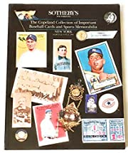 Copeland Collection of Important Baseball…