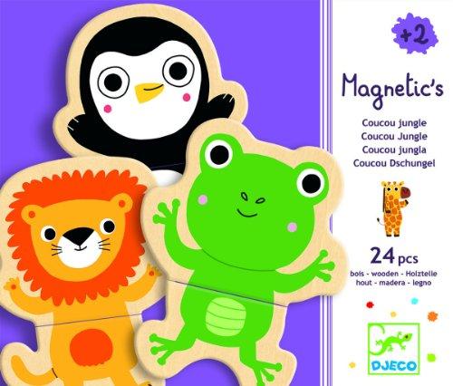 Magnets Jungle - Djeco Cou Cou Jungle Magnetics (24 pc)