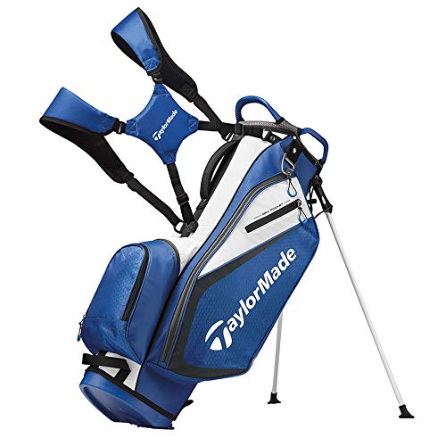 TaylorMade 2019 Golf Select Stand Bag, Blue/White by TaylorMade
