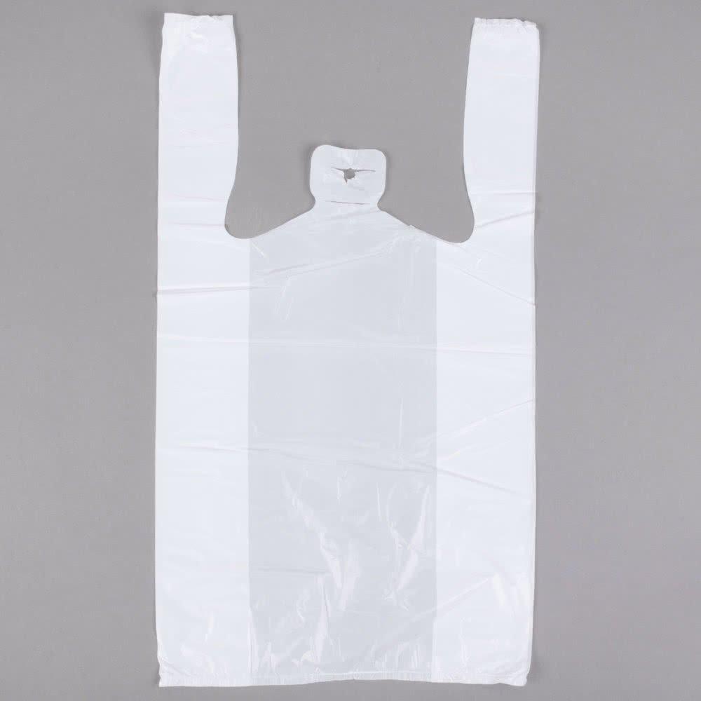 1 / 8サイズホワイトTシャツバッグ – 1000 /ケースby Tabletop King   B076ZH21FS