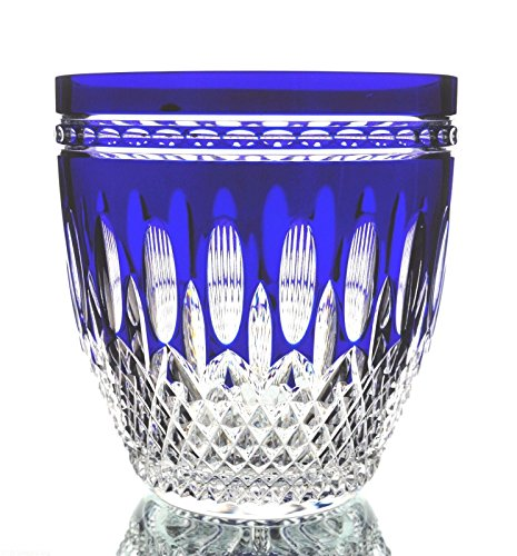 - Waterford Cobalt Blue Cased Crystal Clarendon Ice Bucket