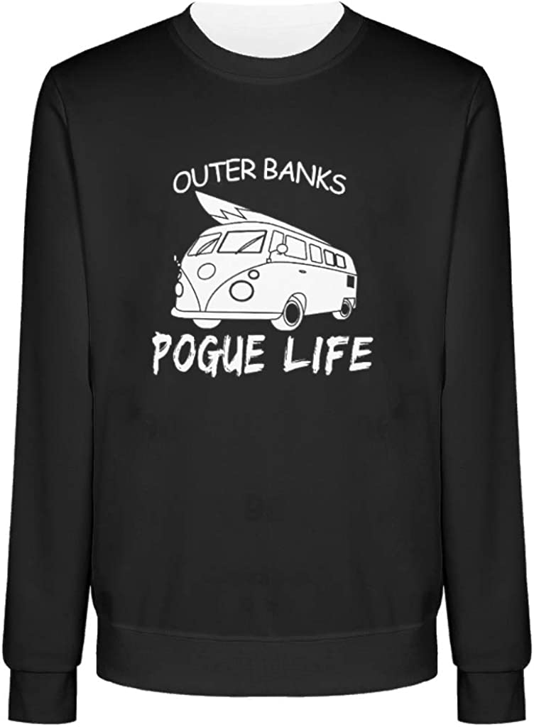 Olineship Outer Bank-s Sweatshirt Outer Bank-s Pogue Li-fe O Neck Hoodies for Unisex