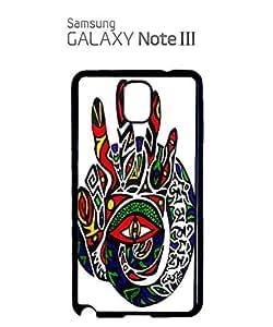 Third Inner Eye Hand Mobile Cell Phone Case Samsung Note 3 Black