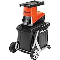 Dolmar FH2500 Biotriturador eléctrico, 2500 W, Negro/Naranja