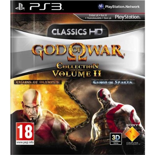 God of War Collection Volume II-PS3 (The God Of War Ghost Of Sparta)