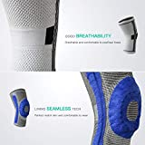 FREETOO Knee Compression Sleeve,Sports Knee Brace