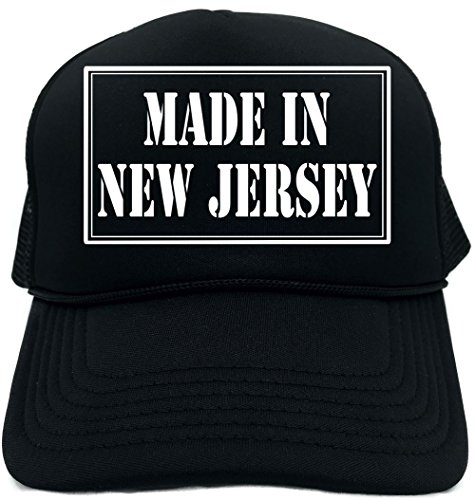 Signature Depot Funny Trucker Hat (Made In New Jersey) Unisex Adult Foam (New Jersey Trucker Hat)
