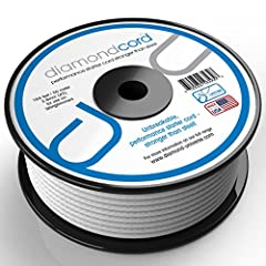 diamondcord - unbreakable starter cord stronger than steel. Made in the USA and backed by a lifetime guarantee. Available in 4 sizes for all small engine equipment, outboard motors and snowmobiles.