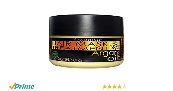 Arganour Hair Mask Treatment Argán Oil Tratamiento Capilar - 200 ml: Amazon.es: Belleza