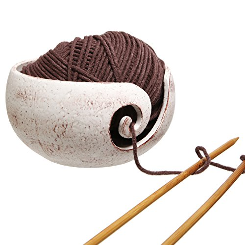 Rustic Handcrafted Ceramic Knitting Elegant