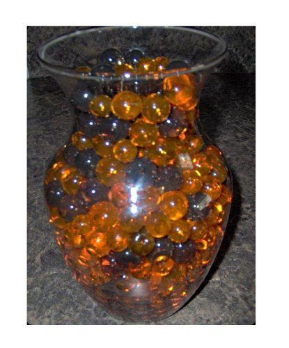 Halloween & Fall Time Decoration Water Beads - Party Event Vase Fillers - 10 Pack Custom Assortment Package ()