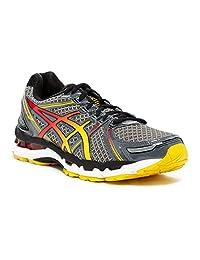 Asics Men's Gel Kayano 19 Running Shoes 7.5 M US Charcoal Sunburst
