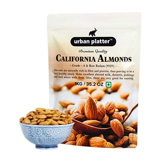 Urban Platter California Almonds, 1kg