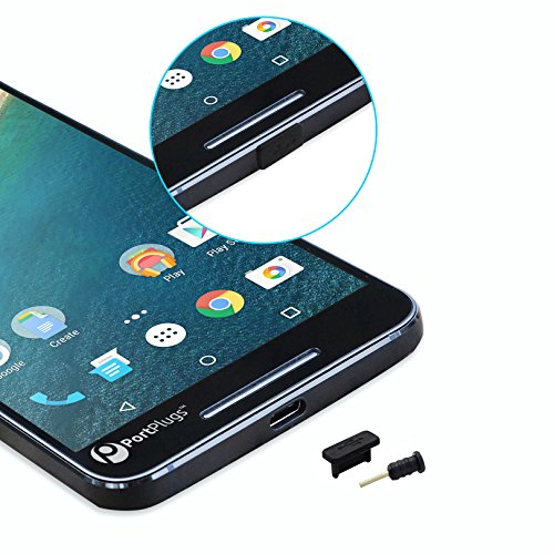 USB-C Anti Dust Plugs (5 Pairs) – Precision Designed Silicone (Holes Dust)