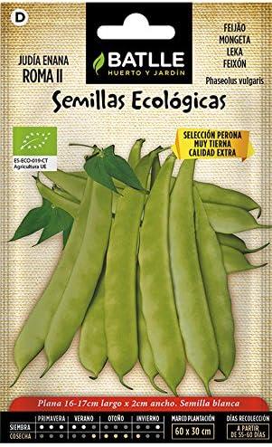 Semillas Ecológicas Leguminosas - Judía Enana Roma II- ECO ...