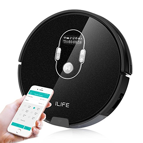 ILIFE A7 Robot Vacuum Smart Planned cleaning robot vacuum with APP control