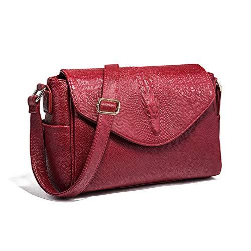 Womens Tops Purses and Handbags Ladies Designer Satchel Tote Bag Shoulder Bags Tote Wallet (Red wine)