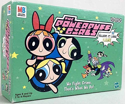 Amazon Com Cartoon Network The Powerpuff Girls Villains At Large Game Toys Games