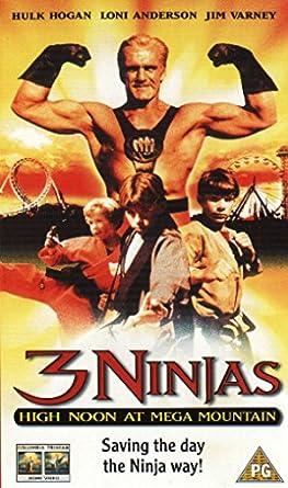 3 Ninjas: High Noon at Mega Mountain Reino Unido VHS: Amazon ...