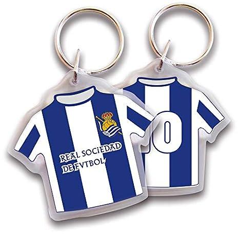 Real Sociedad Llavero Camiseta Plástico: Amazon.es: Deportes ...