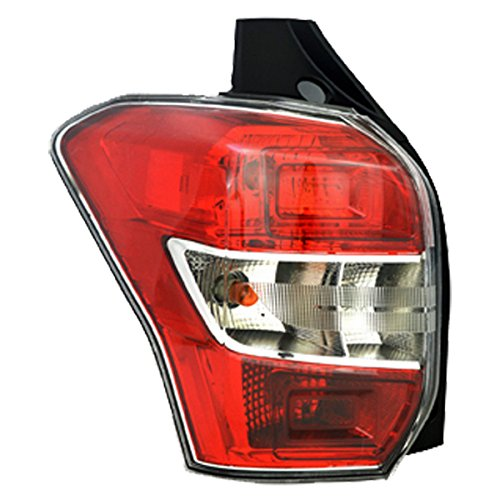 TYC 11-6598-00 Subaru Forester Left Replacement Tail Lamp (Forester Subaru Lamp Tail)