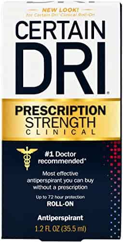 Certain Dri Anti-Perspirant, Roll-On, Pack of 1, 1.2 oz