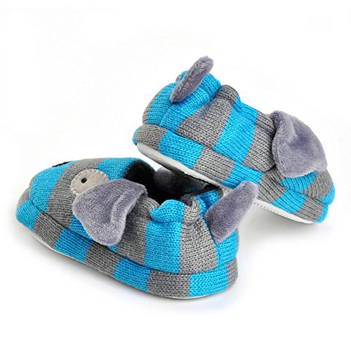 Pictures of Enteer Baby Boys' Doggy Slipper Blue 2