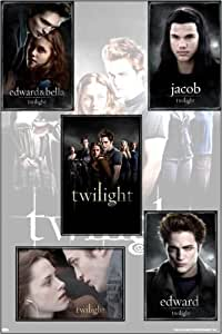 TWILIGHT MOVIE POSTER Ultimate Fan Gift SET- ALL FIVE COLLECTIBLE Posters Vampire Romance Robert Pattinson #C