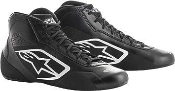 Size 10.5 Alpinestars 2712018-12B-10.5 Tech 1-K Shoes Black//White