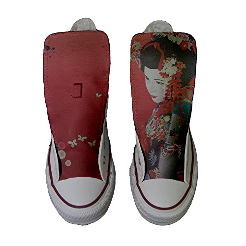 Scarpe Converse All Star personalizzate (scarpe artigianali) Geisha 2