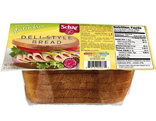 Schar Deli-Style Bread Gluten Free -- 8.5 oz(Case of 6) by Schar by Schar