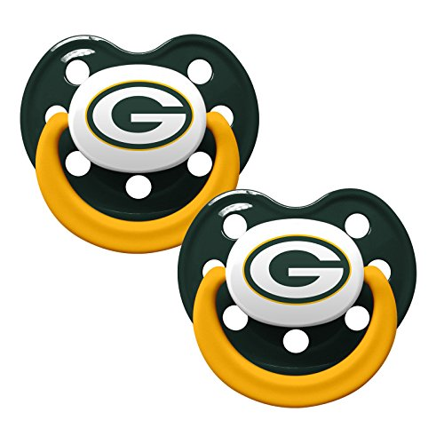 Baby Fanatic Pacifiers Green Packers