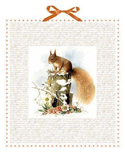 Marjoleins Eichhörnchen im Schnee