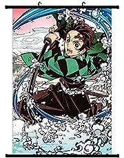 lunanana Demon Slayer: Kimetsu no Yaiba Poster Prints, Anime Scrolls Poster Banners voor Verzamel Home Wall Slaapkamer Decoratie