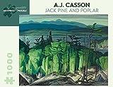 A.j. Casson Jack Pine and Poplar 1,000-piece Jigsaw Puzzle